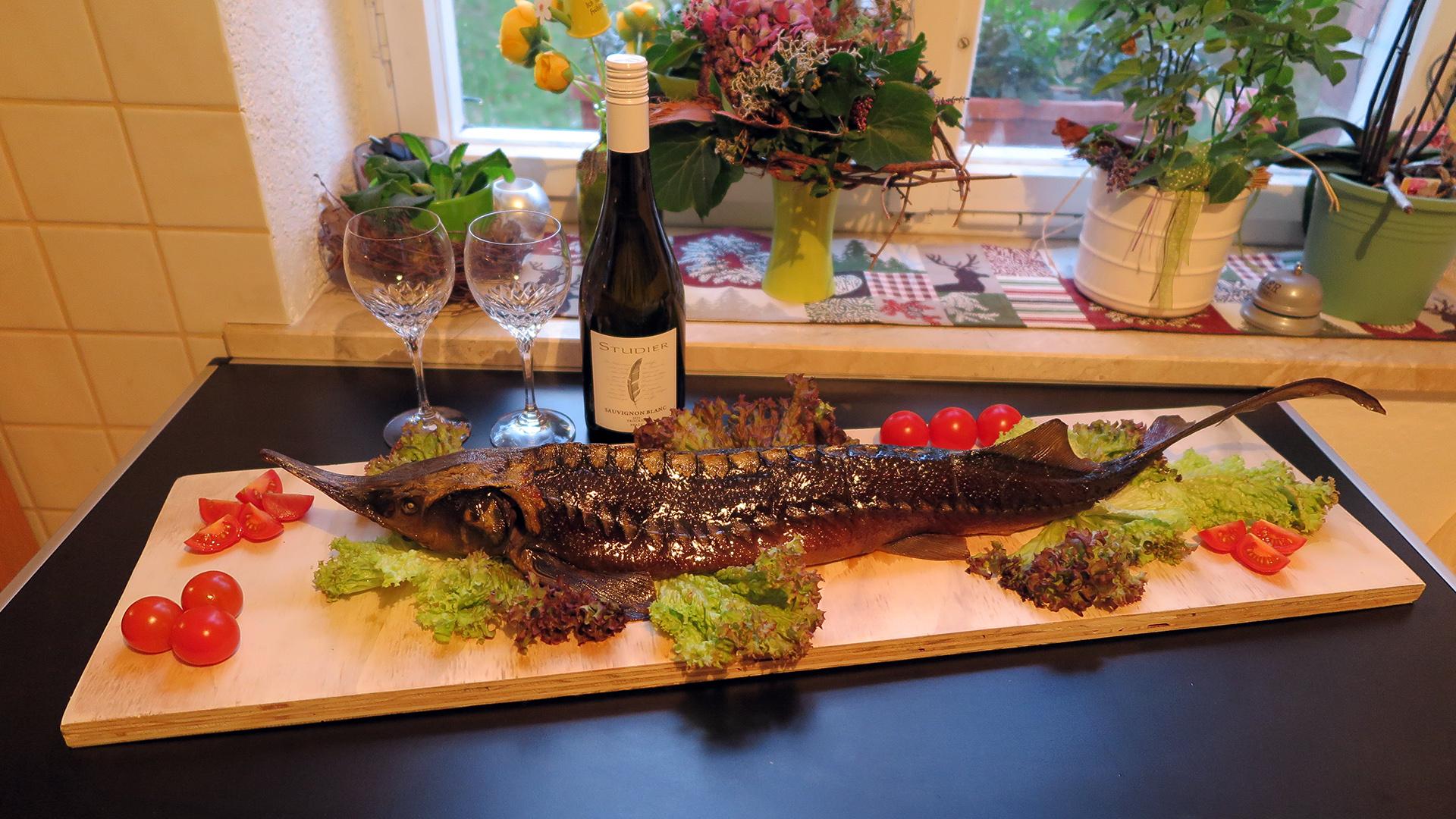 Produkte - Fisch Wels zubereitet