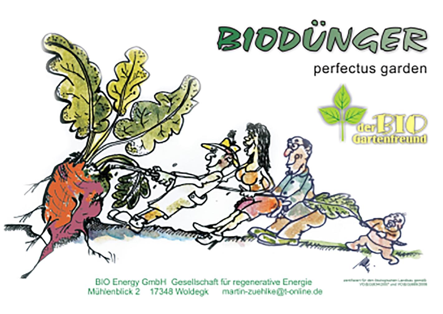 Produkte - Bio Dünger der BIO Gartenfreund
